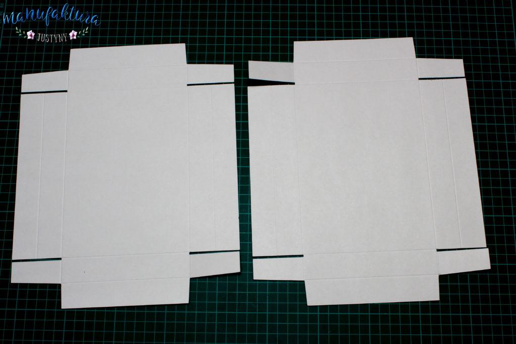 pudełeczko na kartkę