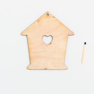 Domek dla ptaszków mały