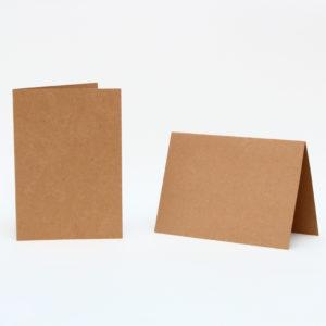 Baza do kartek 150×105 z brązowej tektury