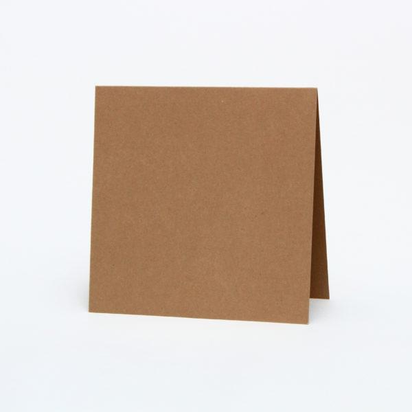 Baza do kartek 150×150 z brązowej tektury