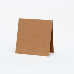 Baza do kartek 140×140 z brązowej tektury