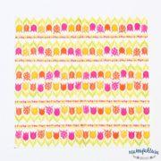 Serwetka mała W01 – tulipany