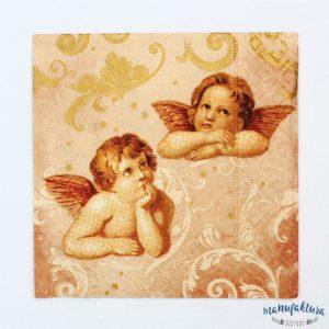 Serwetka mała A02 – aniołki