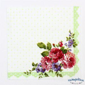 Serwetka K13 – kwiaty
