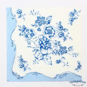 Serwetka K15 – kwiaty