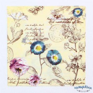Serwetka K01 – kwiatki