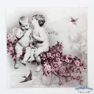 Serwetka A03 – cherubinki