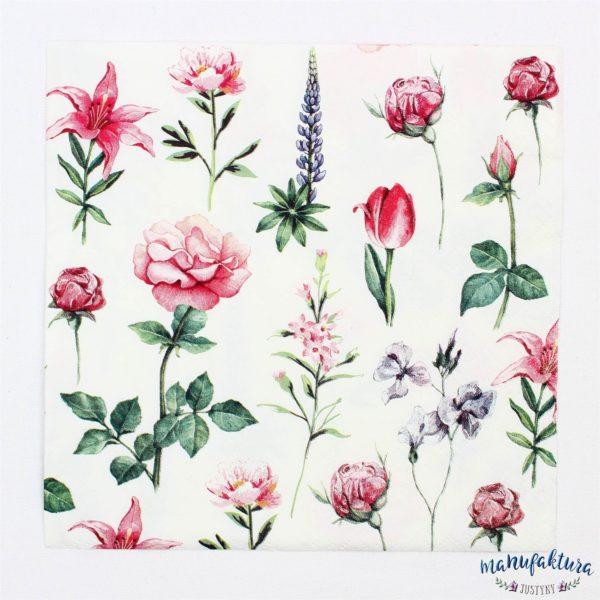 Serwetka K02 – kwiatki