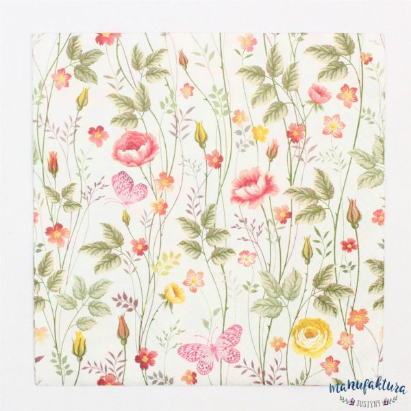 Serwetka K03 – kwiatki