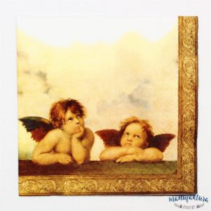 Serwetka A01 – aniołki