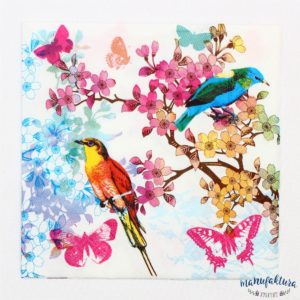 Serwetka P01 – ptaszki