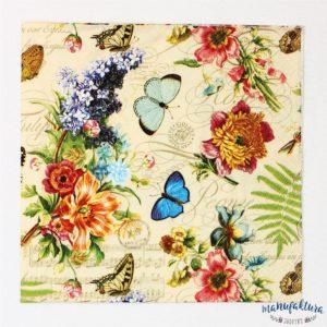 Serwetka O01 – motylki
