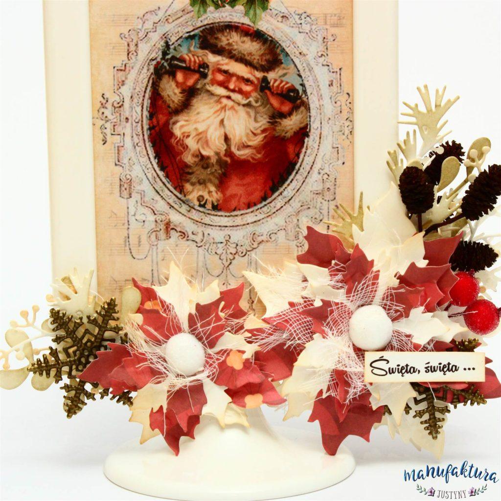 Kartka ramka boże narodzenie